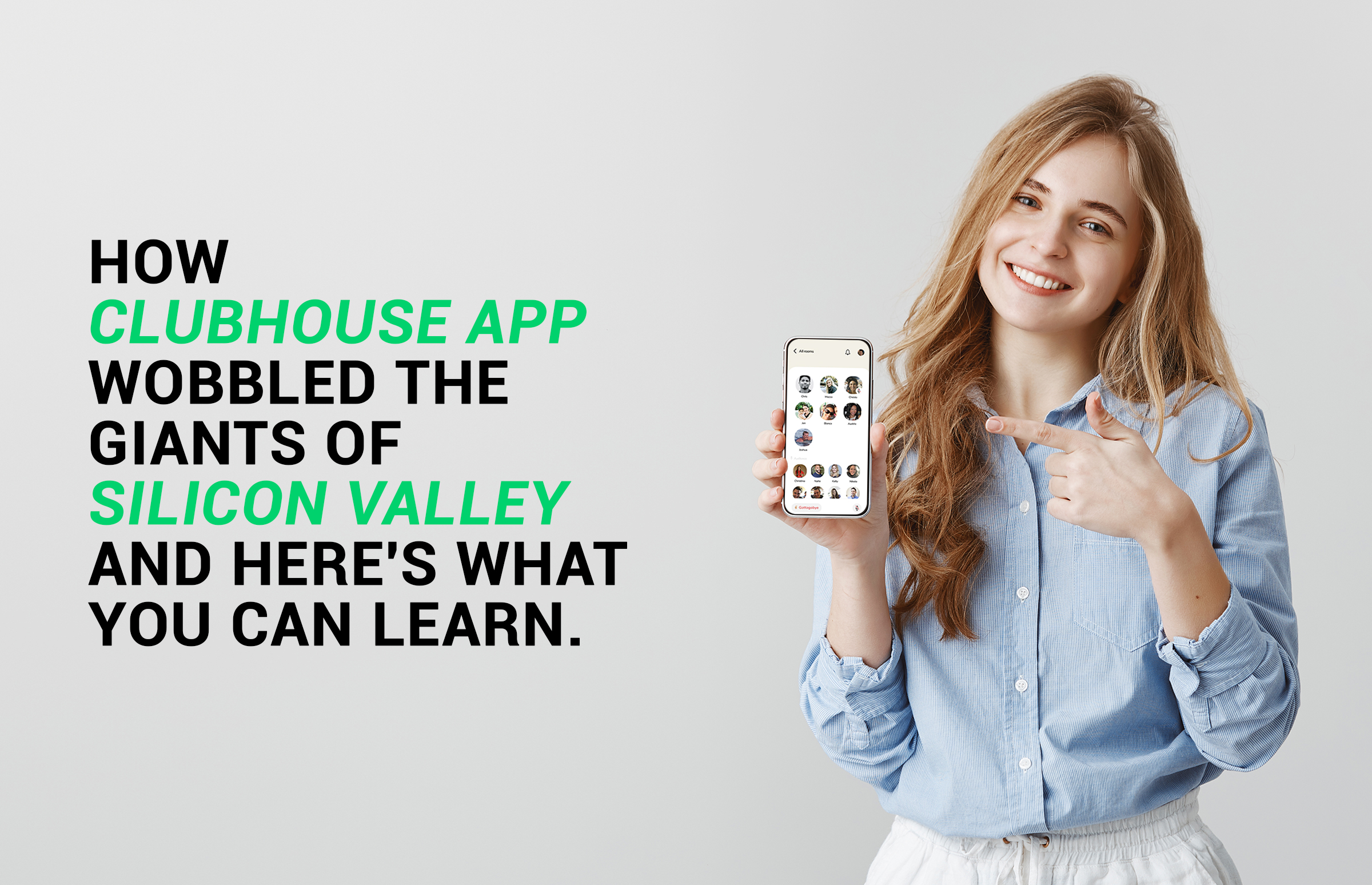 A girl holding a smart phone in her hand